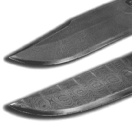 Современная дамасская сталь