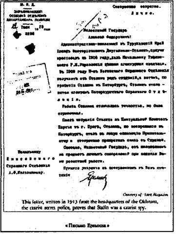 Сталин и репрессии 1920-х – 1930-х гг.