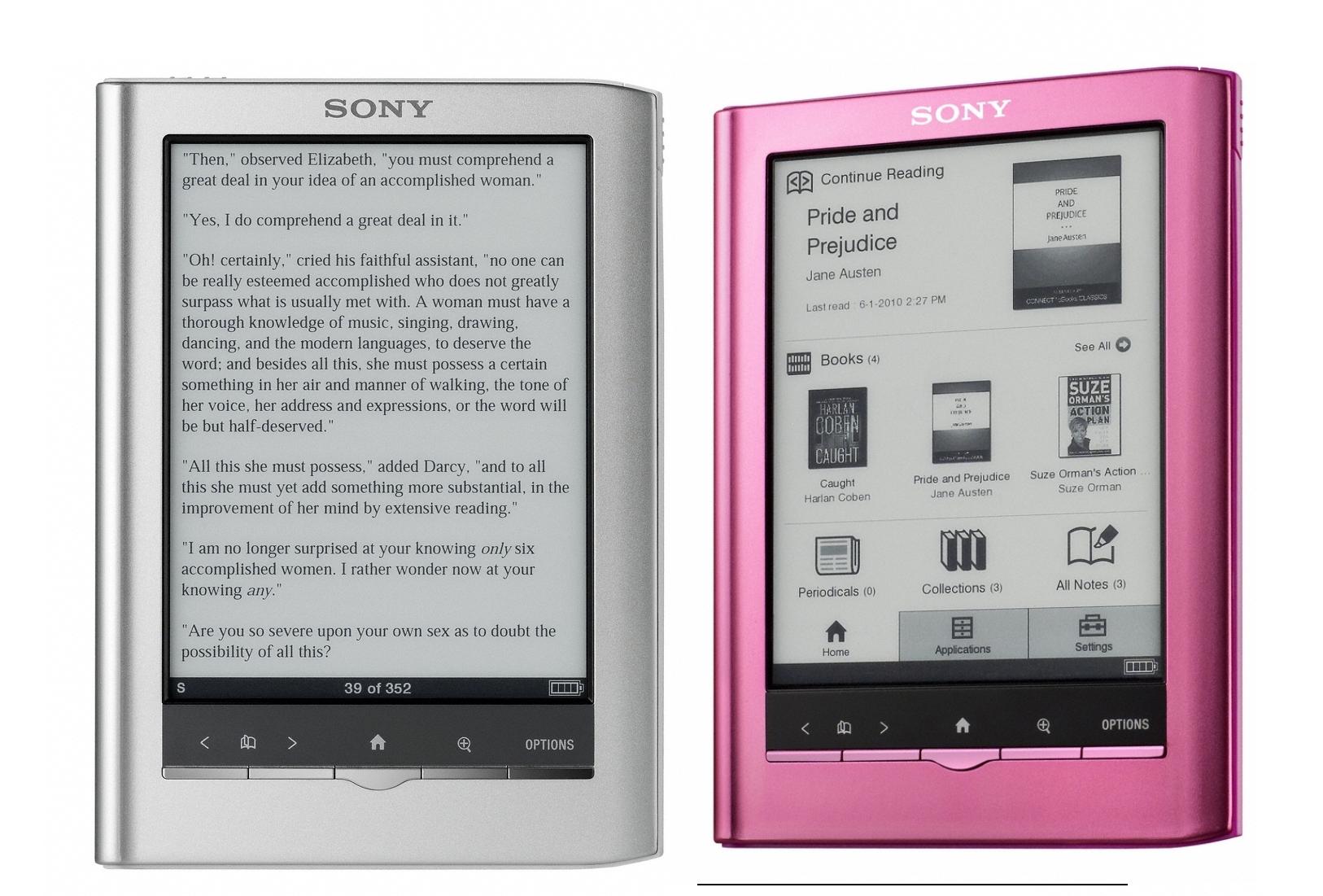 Sony reader prs 350 инструкция