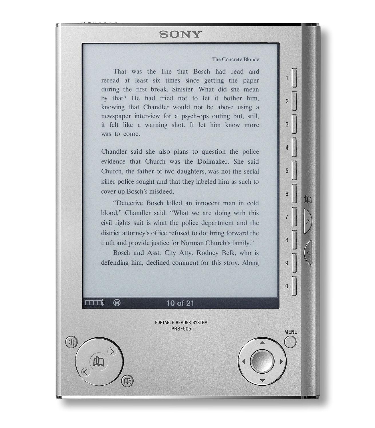 Скачать книгу для reader sony